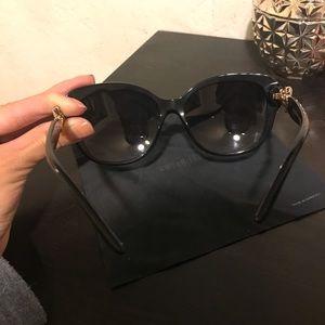 New Bvlgari Black Sunglasses